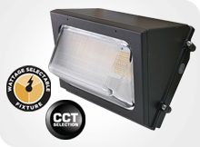 WallMax Compact Open Face - CCT and Wattage Select