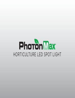 LED HORTICULTURE SPOT LIGHT BROCHURE