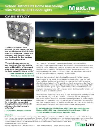 Fond du Lac Baseball