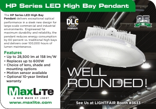 HP Series LED High Bay Pendant