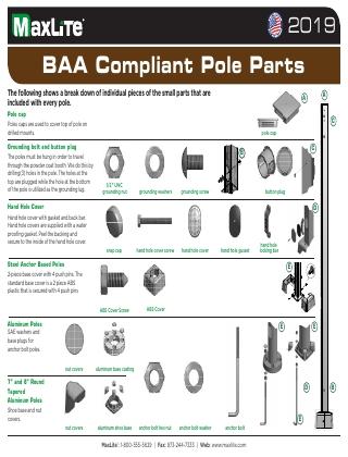 2020 BAA Pole Parts