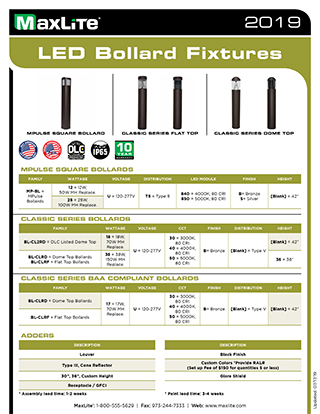 LED Bollard Fixtures