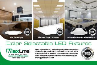 Color Selectable Indoor Fixtures