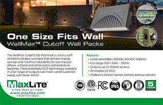 WallMax Cuttoff Wall Packs