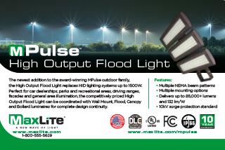 MPulse High Output Flood Light