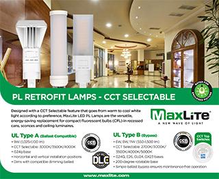 PL RETROFIT LAMPS - CCT SELECTABLE
